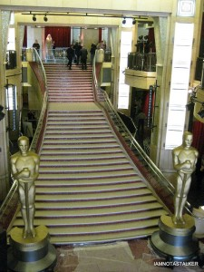 Red Carpet Stairs from the Balcony