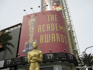 Academy Awards Red Carpet Entrance