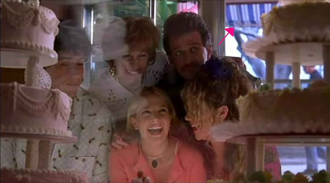Montrose Home Bakery And Sandwich Shoppe Actually Pops Up During My Very Favorite Part Of The Wedding Singer At Beginning Drew Barrymore Adam