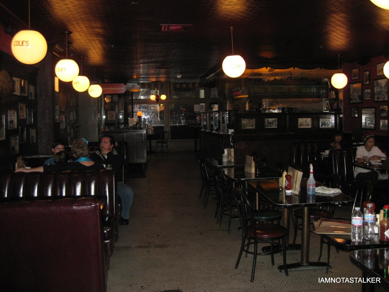"""Cole's Restaurant from """"A Lot Like Love"""" 