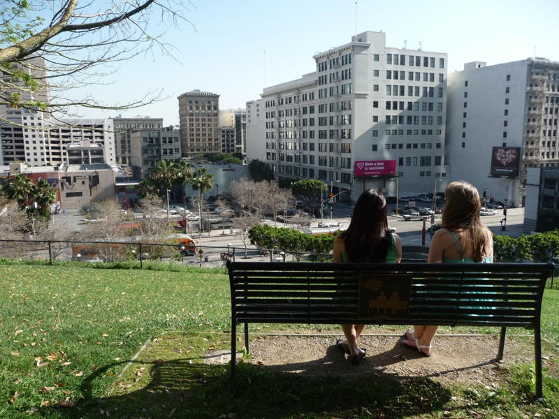 "The ""(500) Days of Summer"" Bench 