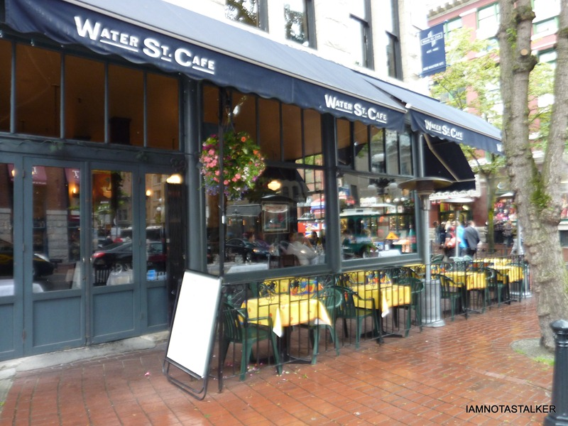 "The Water Street Cafe from ""Love Happens"" 