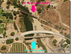 Piru railroad bridges