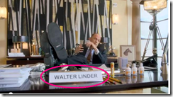 Walter Linder - Matthew's Day Off commercial