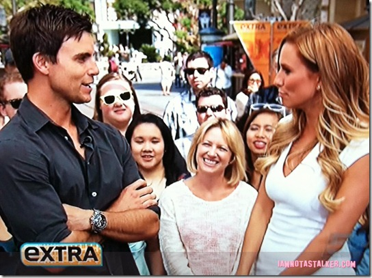 Extra TV Filming Colin Egglesfield-1