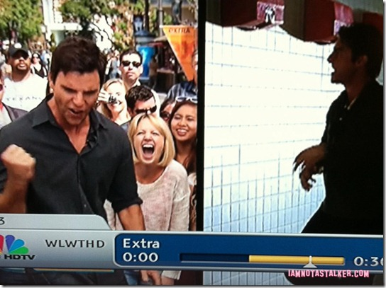 Extra TV Filming Colin Egglesfield-4