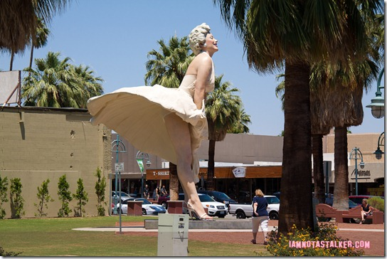Forever Marilyn Statue Palm Springs-2309