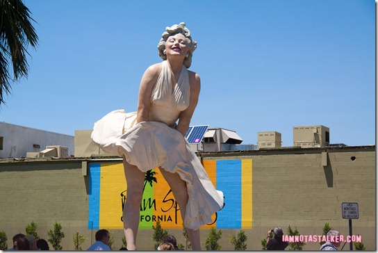 Forever Marilyn Statue Palm Springs-2310