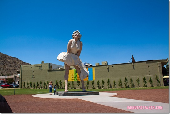 Forever Marilyn Statue Palm Springs-2311