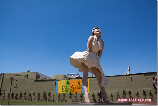 Forever Marilyn Statue Palm Springs-2322