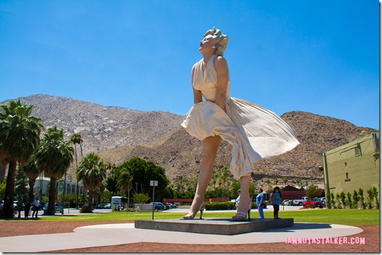 Forever Marilyn Statue Palm Springs-2324