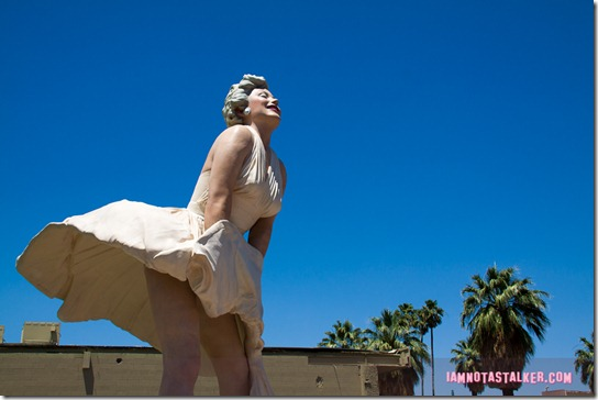 Forever Marilyn Statue Palm Springs-2331