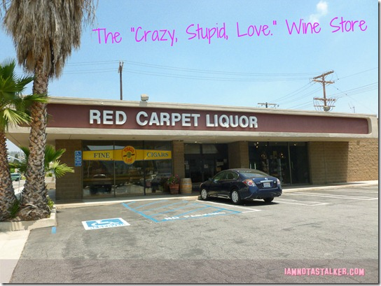 Red Carpet Liquors, Crazy, Stupid, Love.-1050044