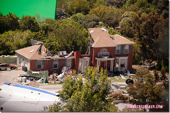 War of the Worlds set - Universal Studios-2417
