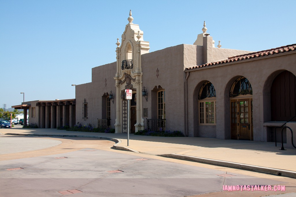 The glendale amtrak station from bulletproof for The glendale