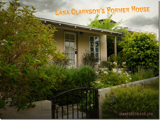Lana Clarkson's House (4 of 7)