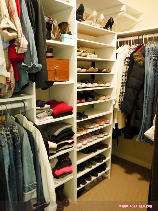 Custom-built closet (1 of 4)