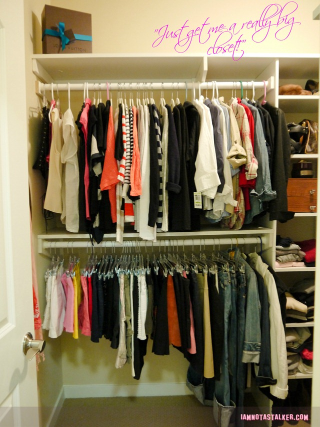 Custom-built closet (2 of 4)