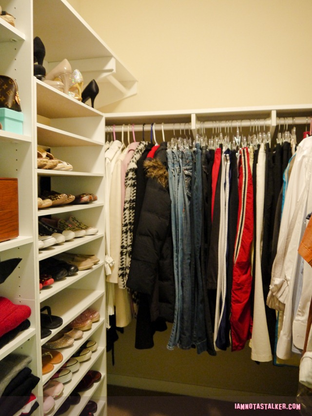 Custom-built closet (3 of 4)
