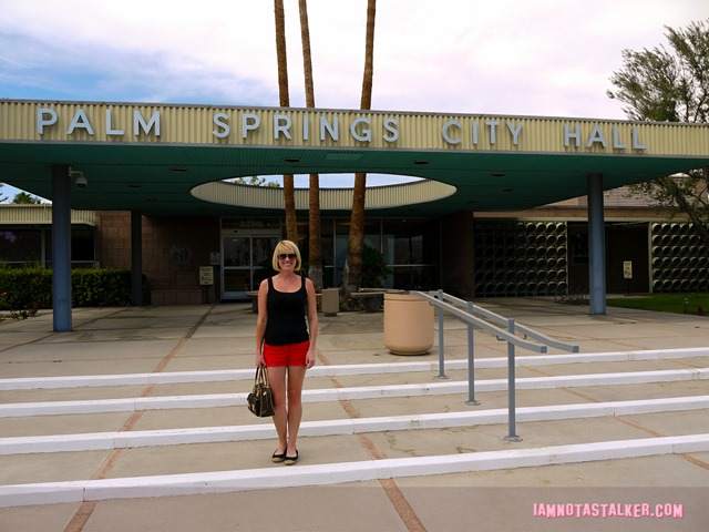 Palm Springs City Hall Behind the Candelabra (30 of 32)