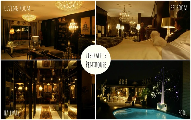Liberace Penthouse Collage