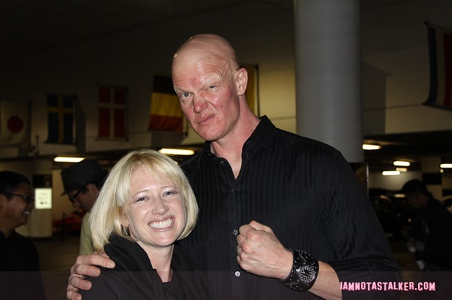 "Derek Mears aka Jason Voorhees from ""Friday the 13th"""