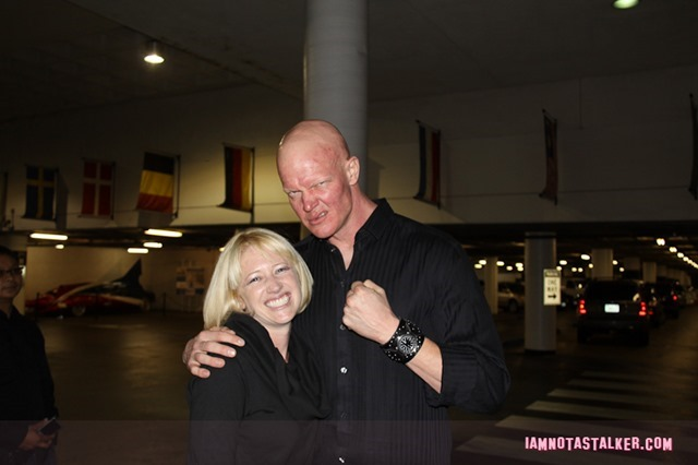 "Derek Mears aka ""Jason Voorhees"" from ""Friday the 13th"""