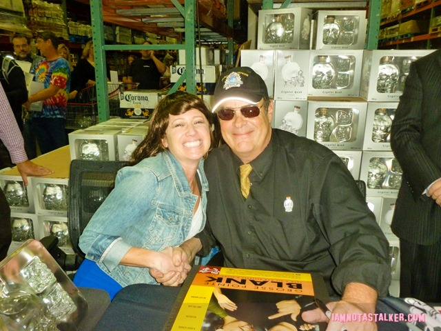 Dan Aykroyd Crystal Skull Vodka Signing (1 of 4)