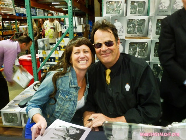 Dan Aykroyd Crystal Skull Vodka Signing (4 of 4)