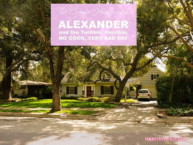 Alexander and the Terrible Horrible No Good Very Bad Day House (10 of 13)