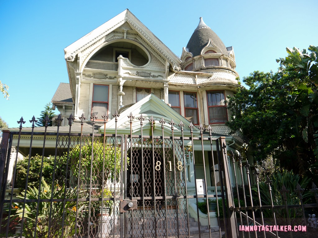 The frederick mitchell mooers house from mod squad for Fredrick house