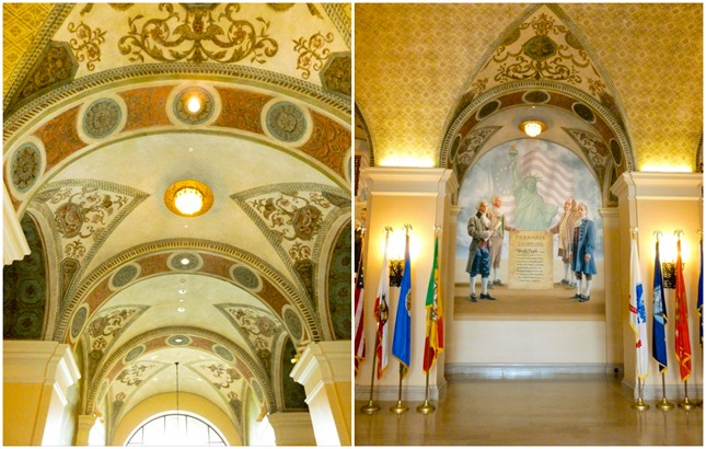 Bob Hope Patriotic Hall Lobby