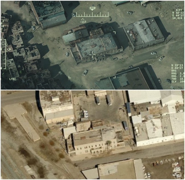 American Sniper Warehouse Aerial View