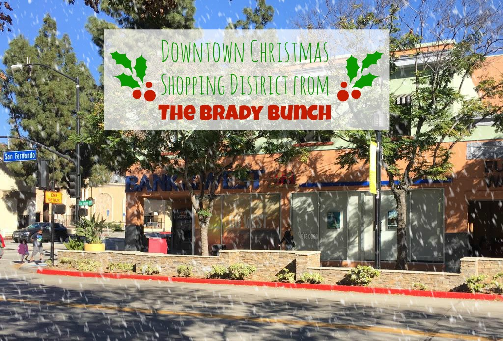 Downtown Christmas Shopping District from The Brady Bunch - 6