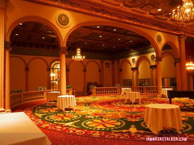 Millennium Biltmore Gold Room from Beverly Hills 90210-3