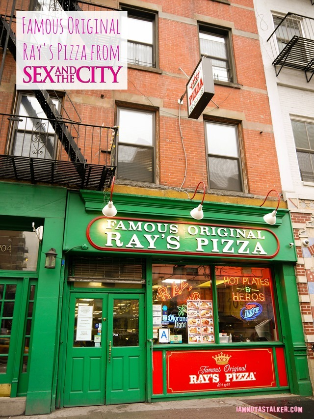 Famous Original Ray's Pizza from Sex and the City-4