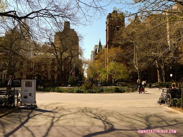 Stuyvesant Square Park from Sex and the City-4