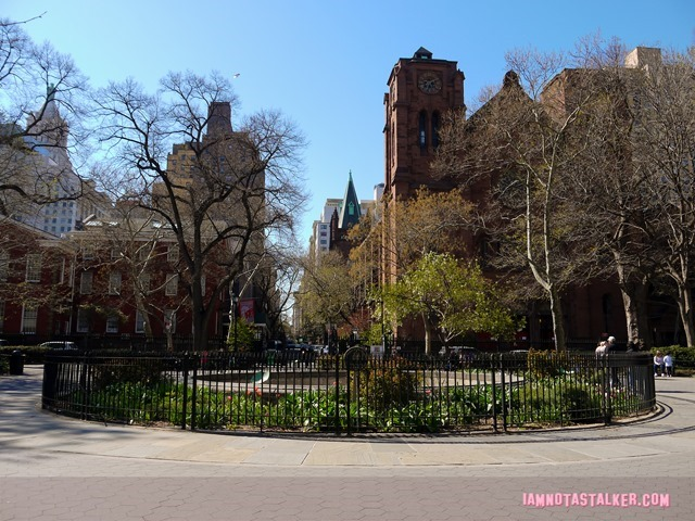 Stuyvesant Square Park from Sex and the City-5