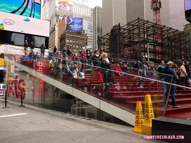 The TKTS Stairs from Glee-1130993