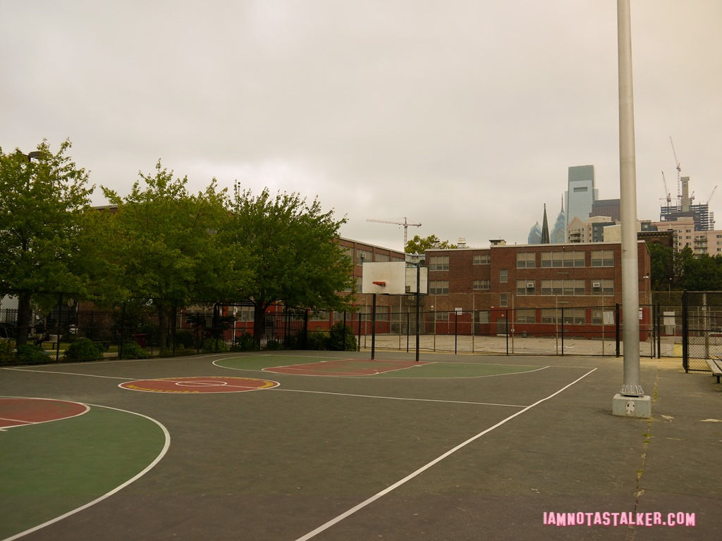 The Fresh Prince Of Bel Air Basketball Court