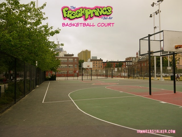 The Fresh Prince of Bel Air Basketball Court-1170969