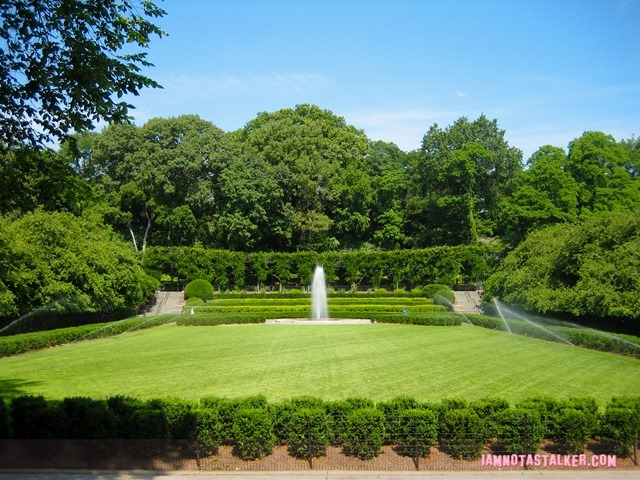 The Conservatory Garden in Central Park