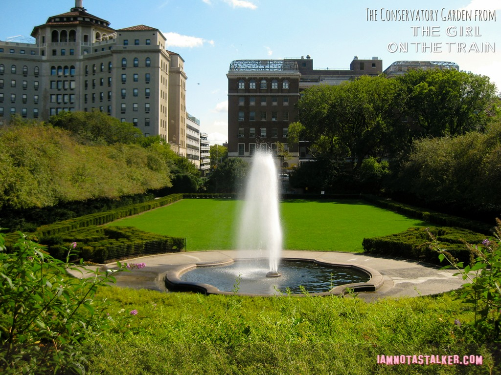 The Conservatory Garden from The Girl on the Train IAMNOTASTALKER