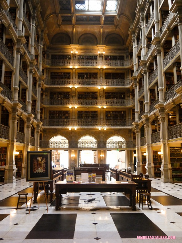George Peabody Library from Sleepless in Seattle-1170216