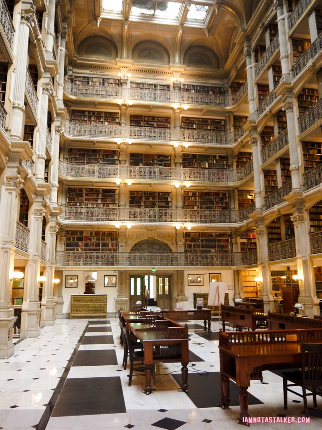 George Peabody Library from Sleepless in Seattle-1170231