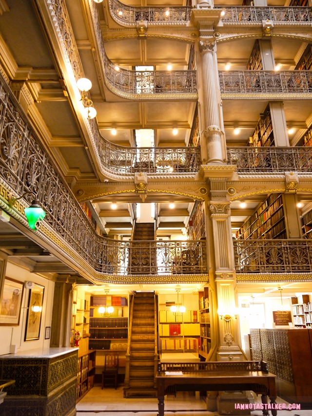 George Peabody Library from Sleepless in Seattle-1170239