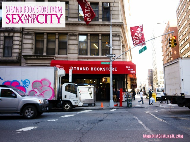 Strand Book Store from Sex and the City-1140499
