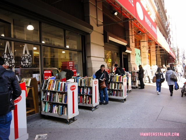 Strand Book Store from Sex and the City-1140505