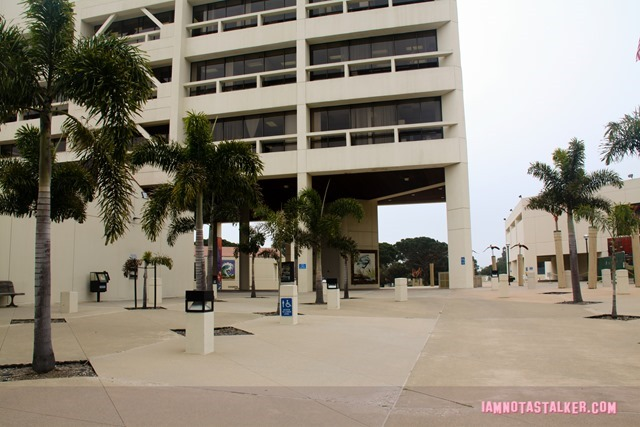 Huntington Beach Civic Center from Rosewood-7697