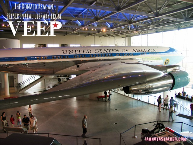 Air Force One. I would love for someone to tell me how the heck they got it in the building!